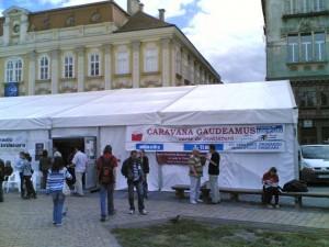 Caravana Gaudeamus in Timisoara